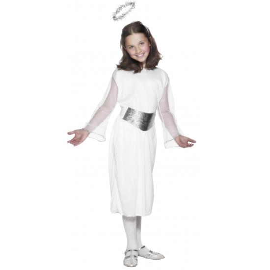 Witte enge jurk